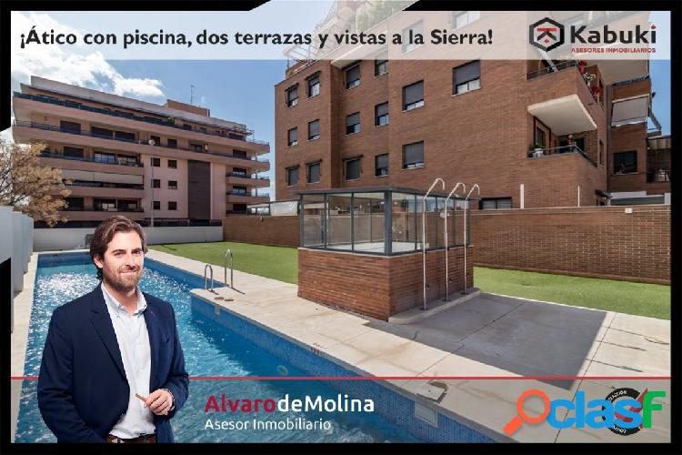 Ático de 4 dormitorios en Parque Almunia, en urbanización