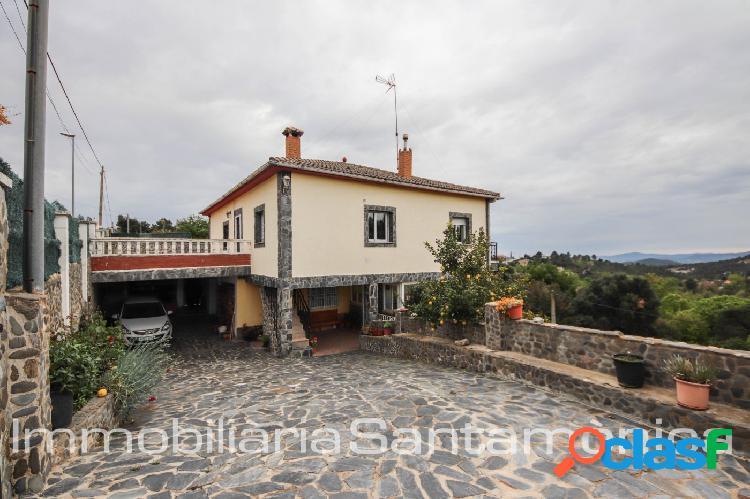 Casa de dos viviendas en venta en Riudarenes, Can Fornaca