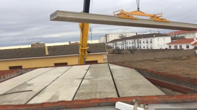 Coste de las planchas de hormigón, precio por metro