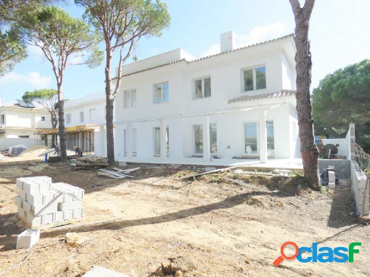 chalet nueva construcción en la Loma de Sancti-Petri