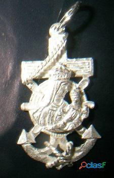 CRUCES MARINERAS VIRGEN CARMEN,en oro o en plata