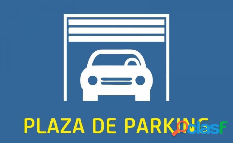 Parking en venta o alquiler al lado de la estacion de tren