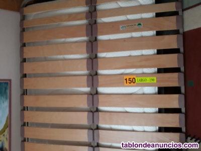 Vendo somier de láminas 150x190 cm. (35 euros)