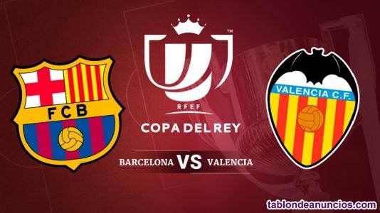 Barcelona vs valencia copa del rey final