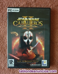 Juego star wars caballeros antigua república ii