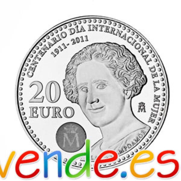 MONEDA DE 20 EUROS DE PLATA