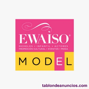 Ser modelo y salir en tv: trabaja de modelo o figurante en