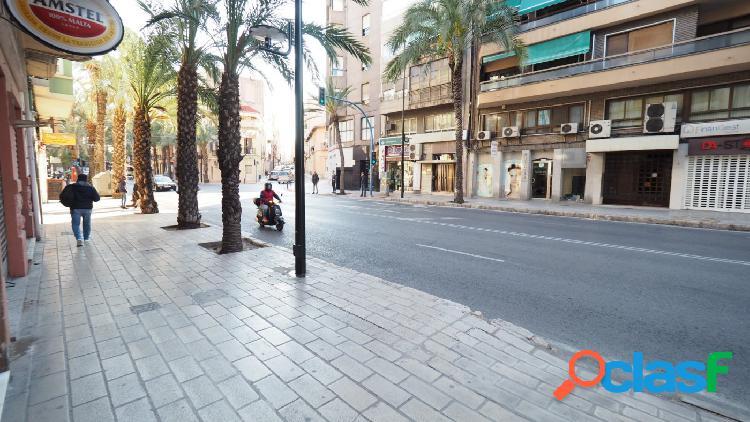 ALQUILER Local comercial en Alicante zona Campoamor,