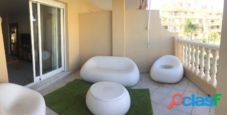 Apartamento en primera línea de playa de Dénia