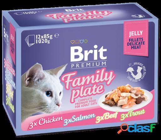 Brit Premium Cat Filetes en Gelatina 85 GR