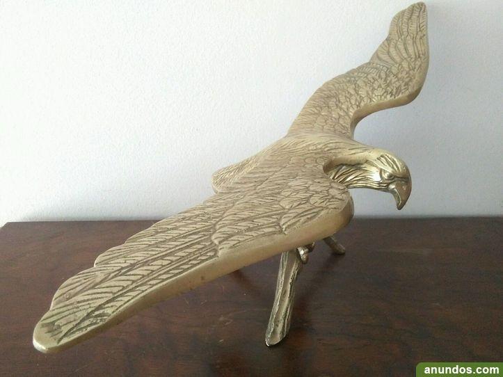 Preciosa aguila de escritorio en bronce 47 cm - Madrid