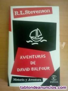 Aventuras de david balfour-robert l stevenson;libro