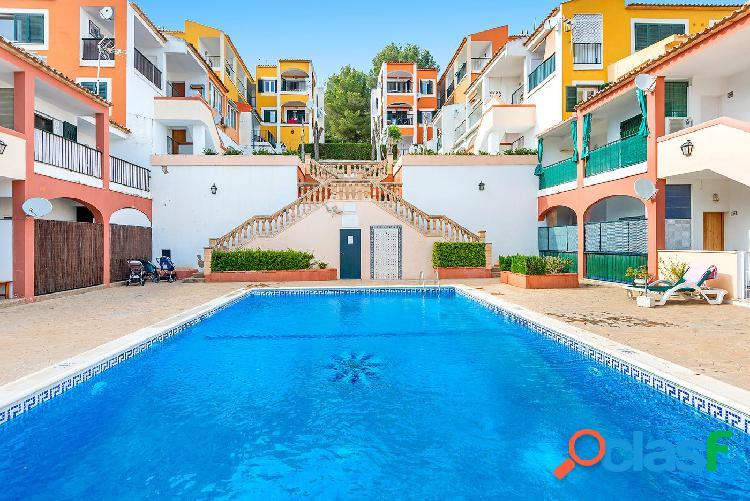 En venta apartamento con espectacular terraza, Santa Ponça.