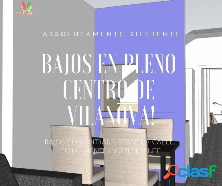 Fantásticos Bajos PARA REFORMAR en Pleno Centro de Vilanova