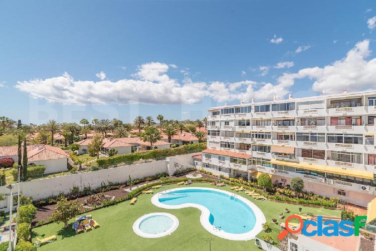 Playa del Ingles, terraza con preciosas vistas