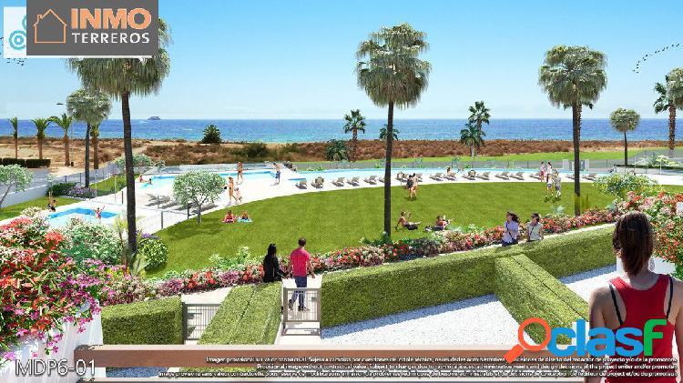 Primera línea en Costa de Almería. 3 dormitorios, terraza,