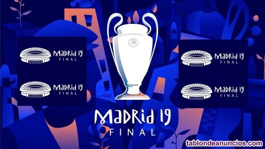 Entradas final de champions league