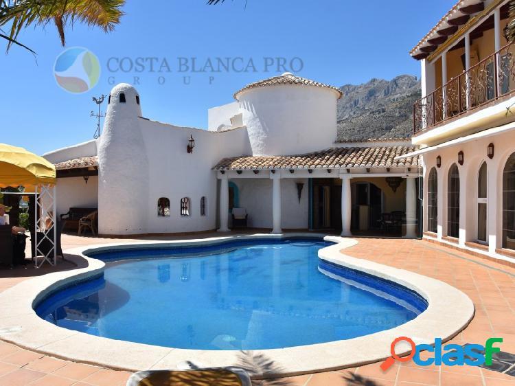 Fantástica Villa en Altea Hills