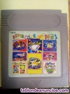 Juegos game boy color 14 juegos en uno 1