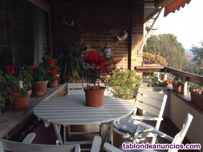 Mesa sillas terraza