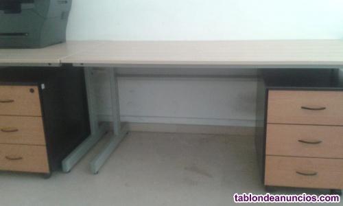 Mesas de despacho chopo