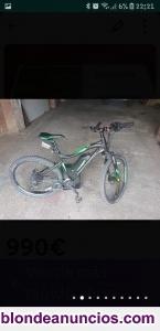 Se vende bicicleta eléctrica megamo xtreme 10.