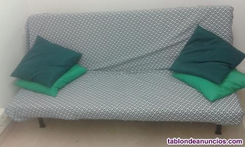 Sofá cama 120x190cm ligero de fácil manejo