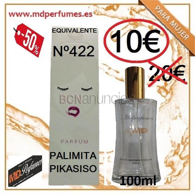 Perfume equivalente mujer n422 palomita pika 100ml alta gama