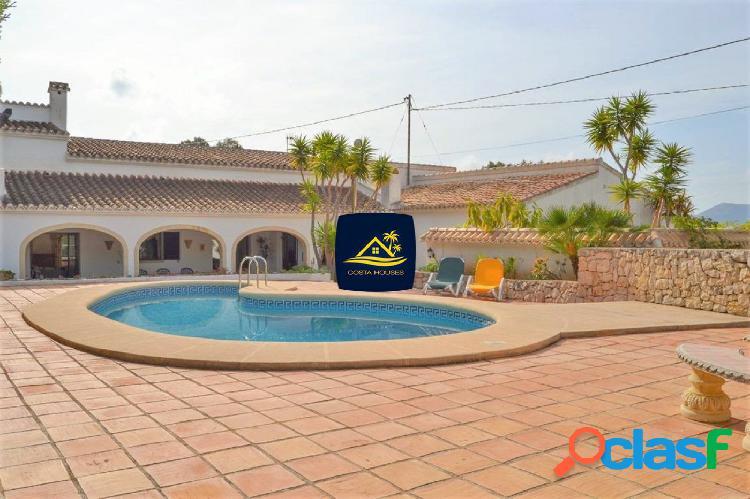 Villa·Finca de estilo Andaluz en Javea · MONTGO | 5 dorm