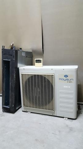 Aire acondicionado Inverter conductos Kaysun de  Frig.