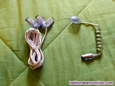 Cable link y lampara de luz game boy
