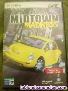 "Juego para pc ""midtown madness"""