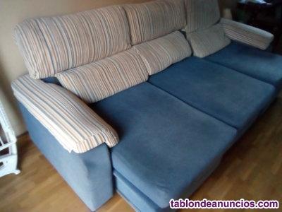 Enorme sofá chaise longue, gama de lujo (urge vender).