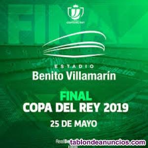 Entradas copa del rey final  - barcelona vs valencia