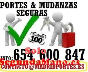 FLETES Y MUDANZAS LOW COST EN MADRID Y ALREDEDORES