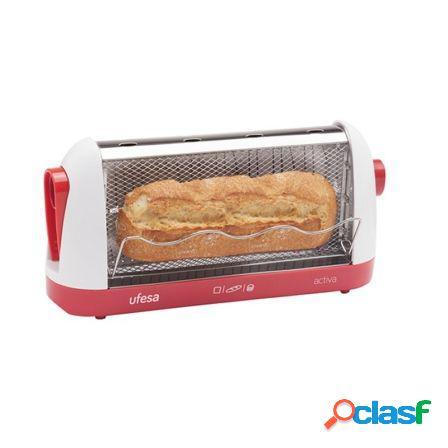 Tostador de pan ufesa tt7963 activa - 700w - para todo tipo