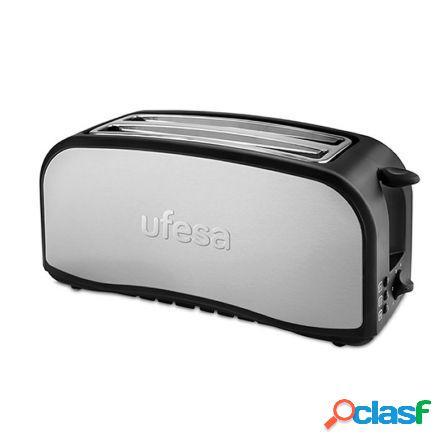 Tostador de pan ufesa tt7975 optima - 1400w - 2 ranuras