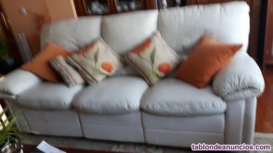 Vendo sofa polipiel