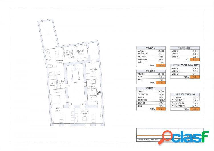 Promoción de 9 estudios y apartamentos junto al Campo del