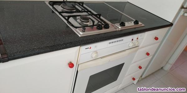 Muebles de cocina lacada blanca