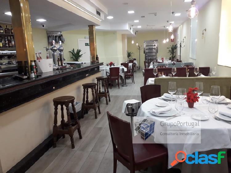 Traspaso B-Restaurante de 250 m² en zona Plaza de Castilla
