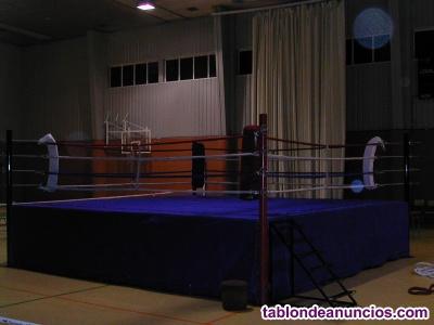 Venta de 2 rings de boxeo y kickboxing
