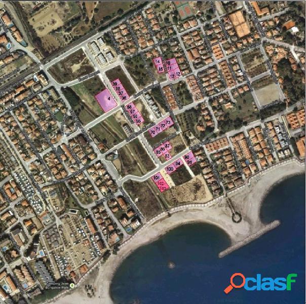 Magnífica parcela de 402 m2 en Ardiaca próxima a la playa