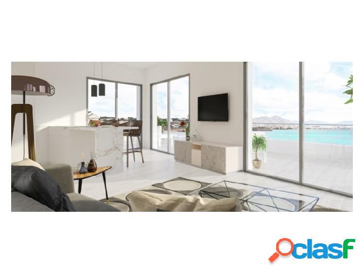 Apartamentos en primera linea en Isla Plana
