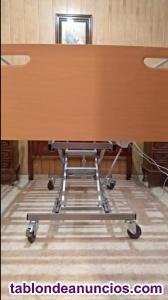 Cama articulada eléctrica de uso geriátrico