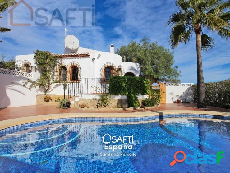 Estupenda villa de dos dormitorios con piscina privada y