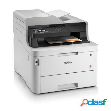 Multifuncion brother wifi con fax laser led color