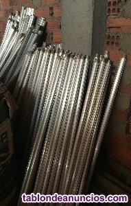 Se venden prolongadores de aluminio para lluvia
