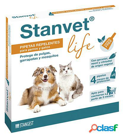 Stangest Pipetas Anti-inscetos Stanvet Life para Perros