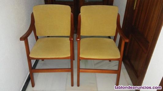Sillas - sillones con reposabrazos